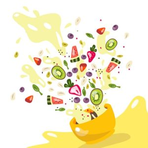 bol de fruits gourmands