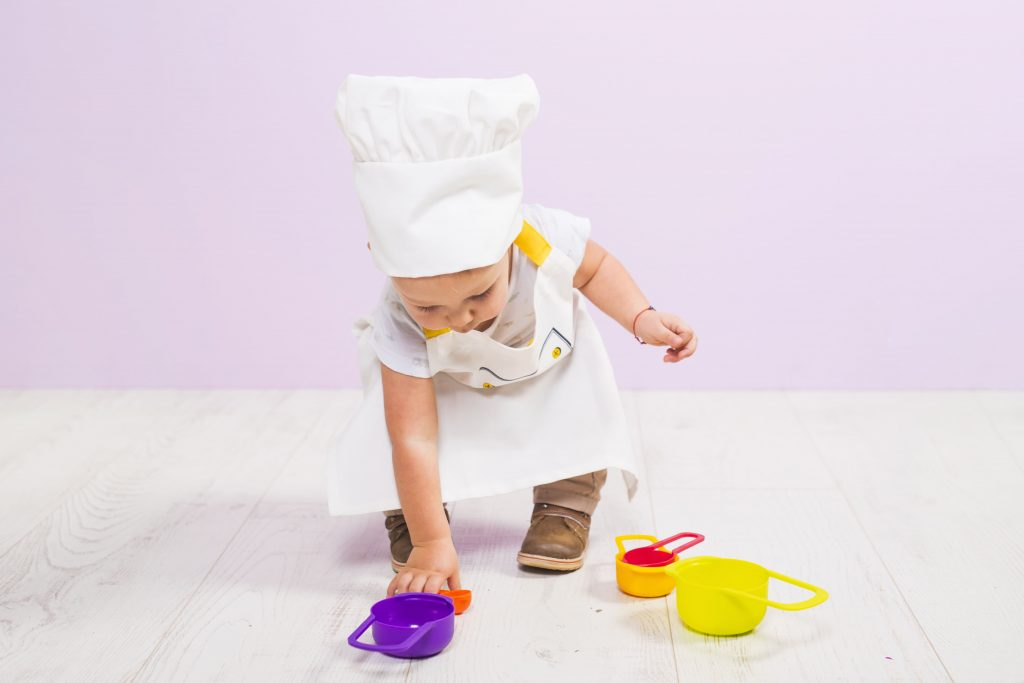 bébé toque cuisinier