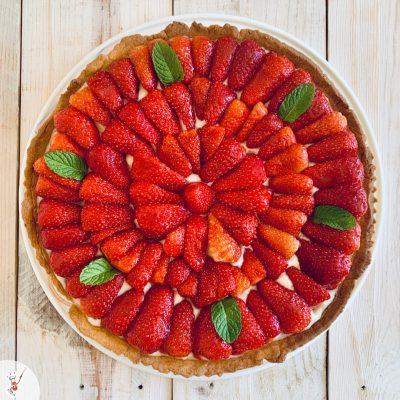 Tarte aux fraises min