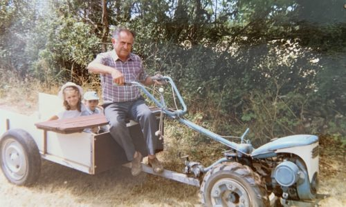 Valérie et son grand-père